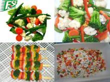 Новый урожай смешанных овощей IQF(свежие и вкусные)