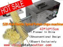 528 machine  twist  potato  cutter  spiral potato