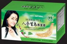 Ginseng and Fleeceflower Root Nourishing Hair Darkly Tea