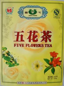 Five Flowers Tea
