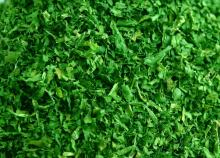 dehydrated spinach granules