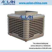 Airflow 18000m3/h top discharge industrial air cooler