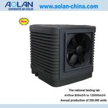 Airflow 30000m3/h side discharge evaporative air cooler