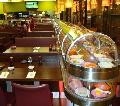 Double-deck hot and cold rotary sushi conveyor belt
