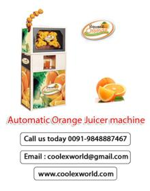 orange juice machine crusher