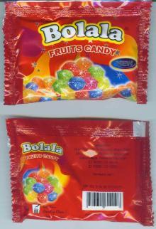 Bolala Fruit Candy