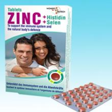 Zinc tablets (with Histidine + Selenium)