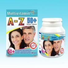 Multi- Vitamin  A- Z  50+ (Blister)