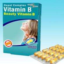 Vitamin B complex (Beauty) + Vitamin B9
