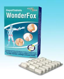 WonderFox Glucosamin + Chondroitin Tablets