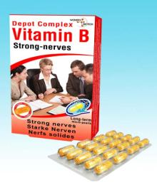 Vitamin B complex incl. Folic Acid Strong nerves