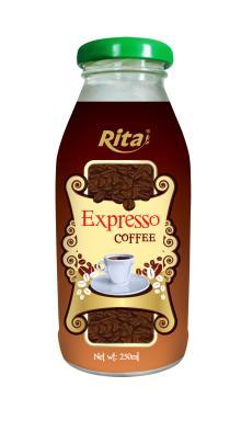 Glass Bottle Coffee Drink