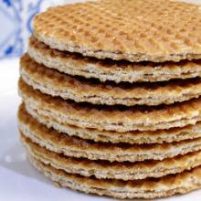 Fresh Original Dutch Stroopwafels