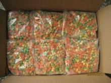 IQF  Смешанный Овощной Зеленый Горошек, Морковь  и  Кукуруза
