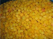 поставка  iqf   желтый   персик