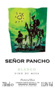 SE?OR PANCHO ( Table White wine)