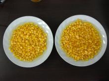 Sweet kernel corn in brine