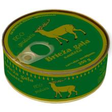 Canned meat (deer, wild boar) ready to use