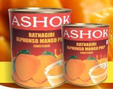 Canned Ratnagiri Alphonso Mango Pulp
