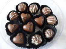30-piece chocolate pralines