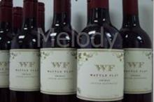 Australia Wattle Flat Shiraz Red Wine