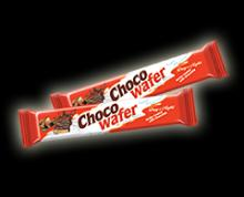 """WAFER """"CHOCO WAFER """" COATED WITH MILK-AND-CACAO glaze"""