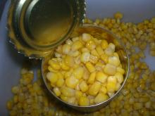 Canned Sweet Corn Vacumm Pack