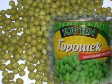 Canned Sweet Peas 370ml