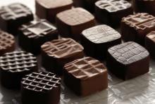 chocolate praline and truffles
