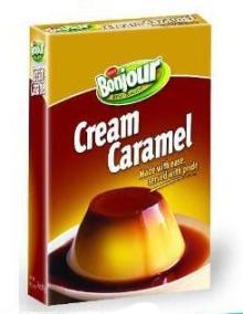 bonjour cream caramel