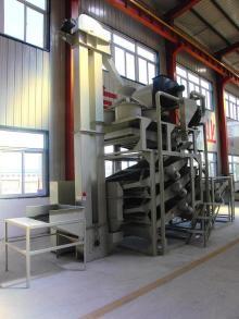 Sunflower seed hulling & separating machine, hulling machine