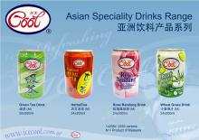 Asian Drinks (green tea etc)