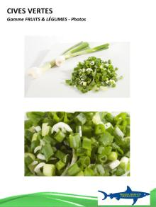 frozen green onion