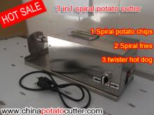 528 potato spiral cutting machine,