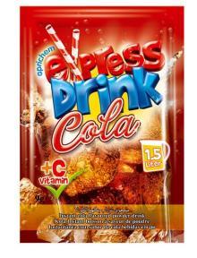 flavoured instant powder drink Cola