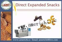 Snacks  Twin   screw   extruder  machine