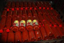 canned Tomato Ketchup - 390g /glass bottle