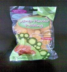 Bag fruit pudding jelly