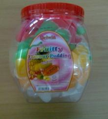 Jar fruit pudding jelly