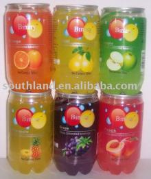 340ml carbonated frut  juice  in  pet   can