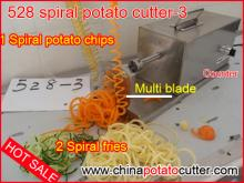 tornado fries cutter spiral tornado twist