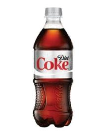 Diet Coca Cola, 20-Ounce