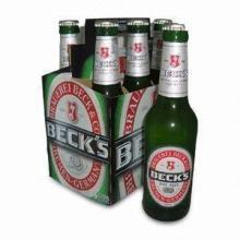 Beers/Bottle Beers/Brand Beers, Becks Beer 6 x 330mL Bottles, Made of Environmental Friendly