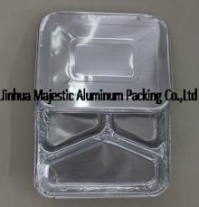 Compartments Foil Container