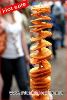 Chinapotatocutter Company Chipstix Machinetornado Fries