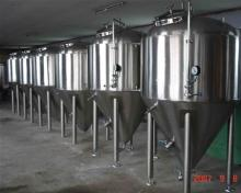 large beer brewery equipment plant