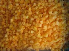 IQF   абрикос  нарезанный кубиками