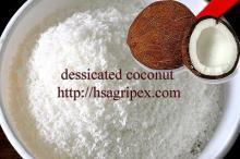 Dessicated Coconut fine & medium grade.