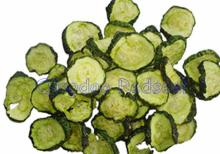 Low temperature Vacuum Fried Cucumber slices