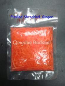 Red Pickled Shredded Gingers